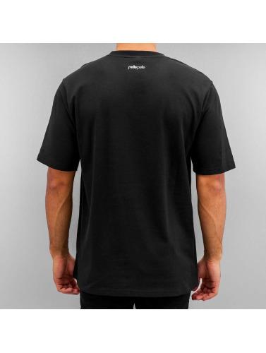 Pelle Pelle Herren T-Shirt Dark Maze in schwarz