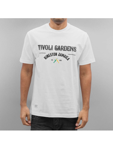 Pelle Pelle Herren T-Shirt Tivoli Gardens in weiß