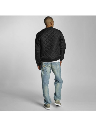 Pelle Pelle Herren Übergangsjacke Million Dollar Quilted in schwarz