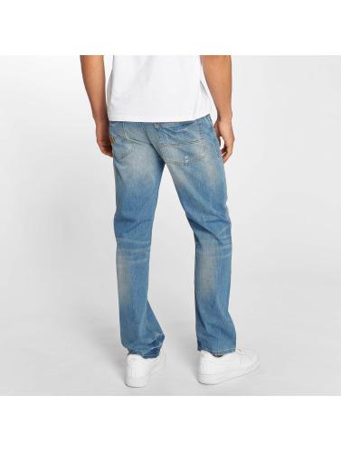 fra Kina Pelle Pelle Menn I Blå Baggy Jeans Baxter billige utgivelsesdatoer 57lLc9