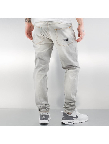 Pelle Pelle Hombres Vaqueros rectos Scotty in gris