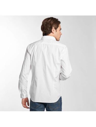 Petrol Industries Hombres Camisa Noos in blanco