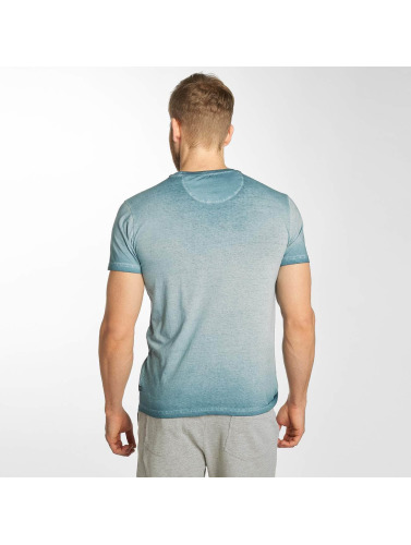 Petrol Industries Hombres Camiseta 73 in azul