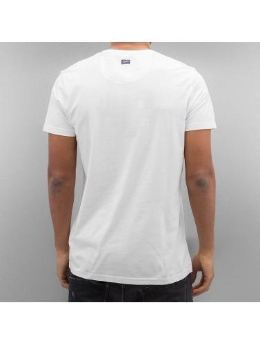 Petrol Industries Hombres Camiseta Bright in blanco