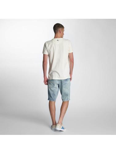 Petrol Industries Hombres Camiseta Summer in blanco