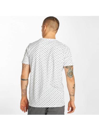 Petrol Industries Hombres Camiseta Print in blanco