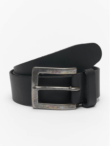 Petrol Industries Gürtel Leather in schwarz