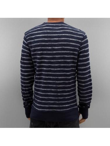 Petrol Industries Herren Pullover Stripes in blau