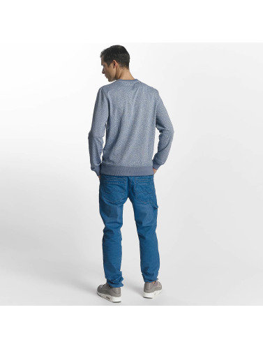 Petrol Industries Herren Pullover Printed in blau