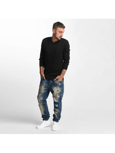 Petrol Industries Herren Straight Fit Jeans Empire in blau