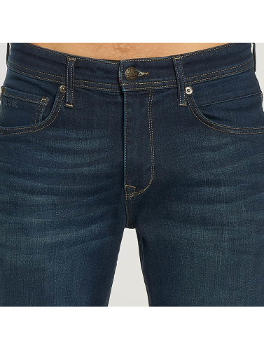 Petrol Industries Herren Straight Fit Jeans Thruxton in blau