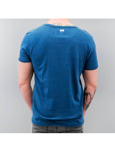 Petrol Industries Herren T-Shirt 73 in blau