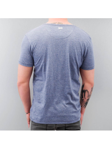 Petrol Industries Herren T-Shirt Blue Denim in blau