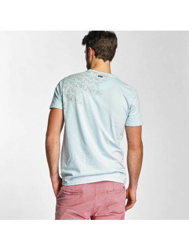 Petrol Industries Herren T-Shirt Pocket in blau