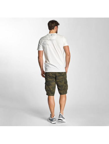 Petrol Industries Herren T-Shirt Pocket in weiß