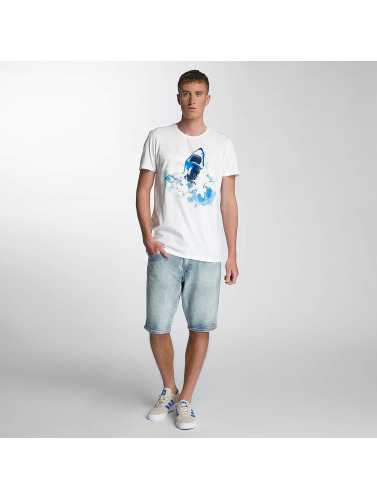 Petrol Industries Herren T-Shirt Shark in weiß Verkauf Wiki lQT1tdIU