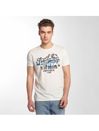Petrol Industries Herren T-Shirt Blue Goods in weiß