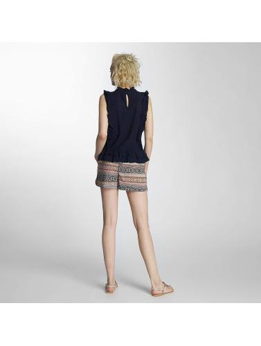 Pieces Damen Bluse pcElton in blau Finish Günstiger Preis Billig Ausverkauf Store Günstige Verkaufspreise Yu2JsC