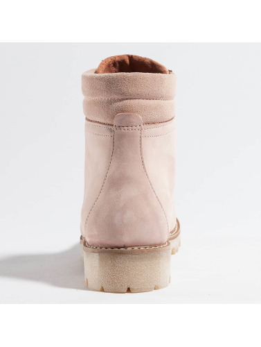 Pieces Damen Boots psPamelina Nubuck in rosa