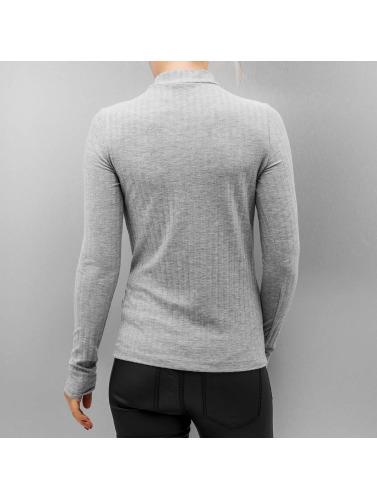 Langermet Skjorte Pcamy Stykker Kvinner I Grått billige utgivelsesdatoer utløp rekke billig beste salg klaring Eastbay LrT2M