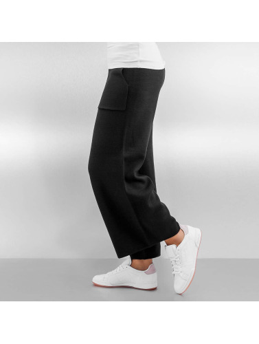 Pieces Damen Chino pcDorthea Culotte in schwarz Äußerst xYXrWsw0gP