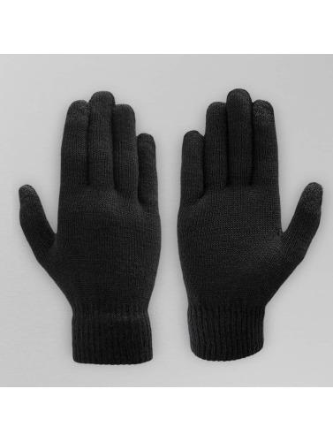 Pieces Handschuhe Buddy in schwarz