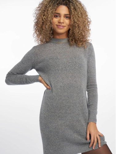 Pieces Mujeres Jersey pcJane Long Wool in gris