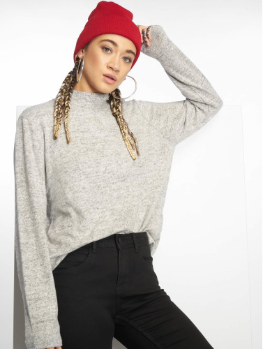 Pieces Mujeres Jersey pcAmia in gris