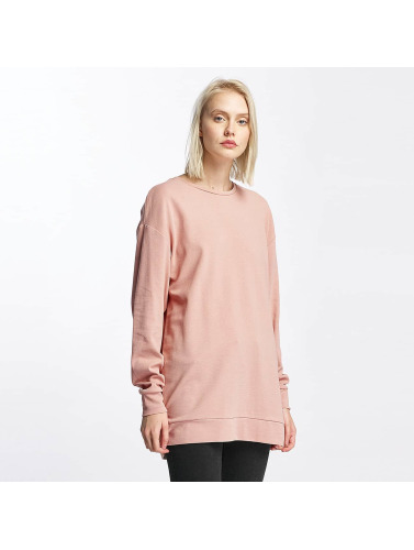 Pieces Mujeres Jersey pcNoma Long in rosa