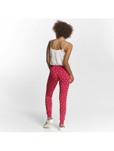 Pieces Damen Jogginghose pcCailin in rot