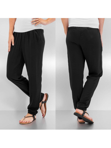 Pieces Damen Jogginghose pcEmone in schwarz