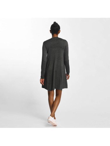 Pieces Damen Kleid pcJasmin Knit in grau