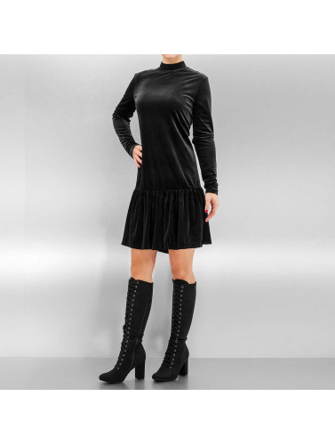 Pieces Damen Kleid pcMary Samt in schwarz