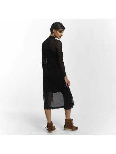 Pieces Damen Kleid pcOdina Long in schwarz