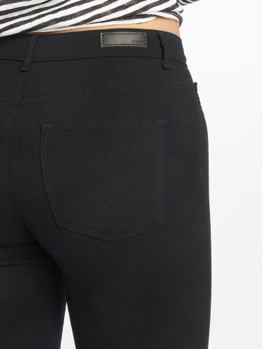 Pieces Damen Legging pcSkin in schwarz