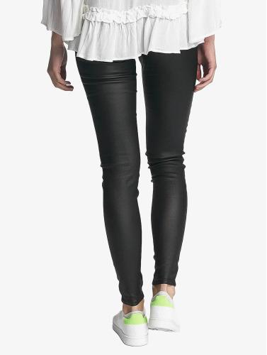 Pieces Damen Legging pcSkin in schwarz