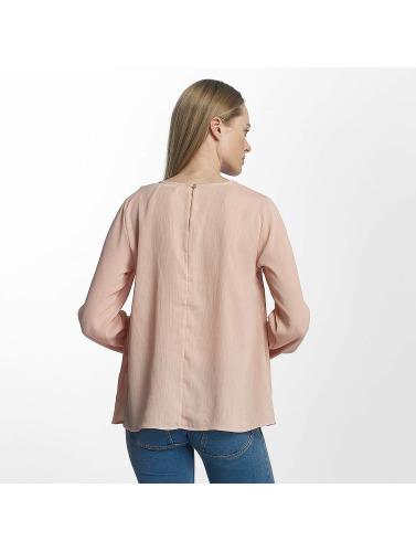 Pieces Damen Longsleeve pcMacy in rosa