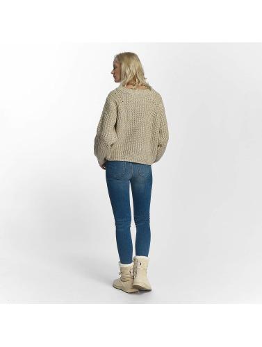 Pieces Damen Pullover pcJoslyn in beige