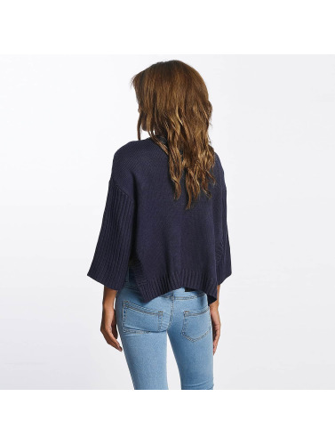 Pieces Damen Pullover pcNanok 3/4 in blau