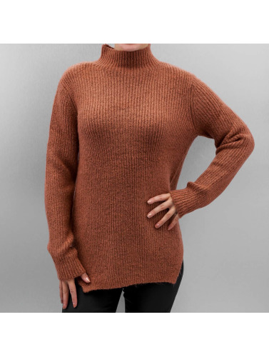 Pieces Damen Pullover pcFanny in braun