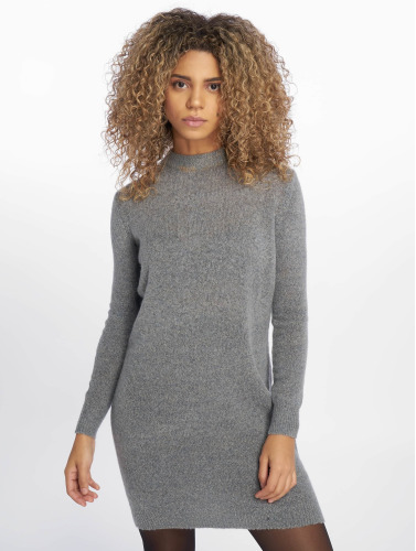 Pieces Damen Pullover pcJane Long Wool in grau