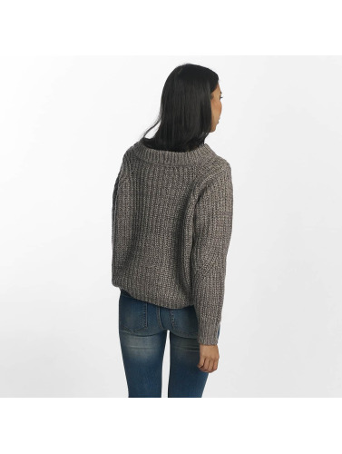 Pieces Damen Pullover pcJoslyn in grau