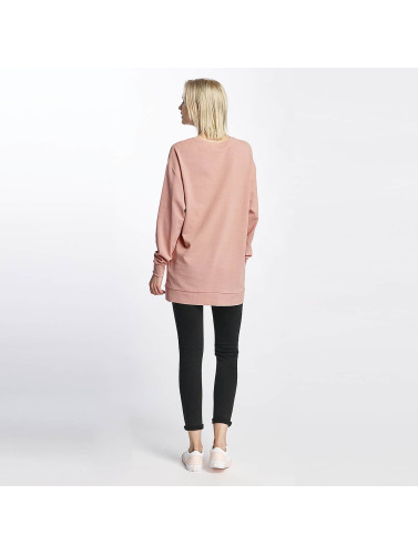 Pieces Damen Pullover pcNoma Long in rosa