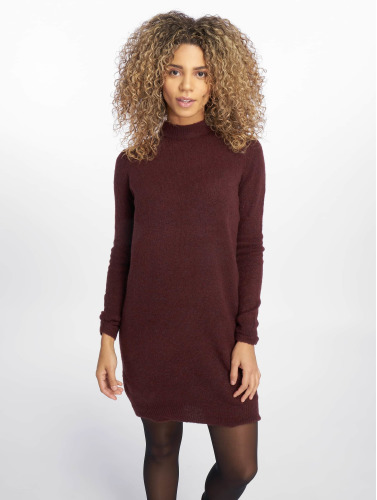 Pieces Damen Pullover pcJane Long Wool in rot