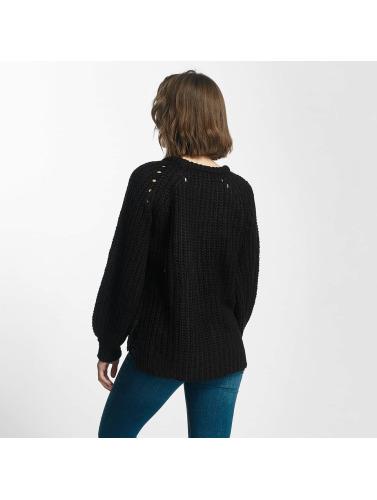 Pieces Damen Pullover pcSura in schwarz