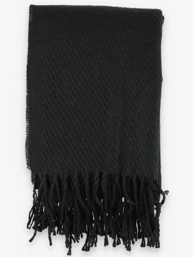 Pieces Schal Kial Long in schwarz