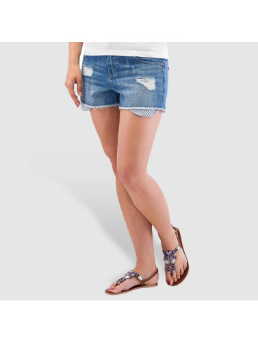 Pieces Damen Shorts pcJust Brandy in blau