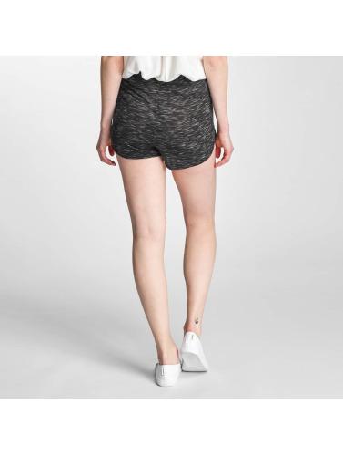 Pieces Damen Shorts PCLine in schwarz
