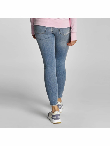 Pieces Damen Skinny Jeans PCJust New Delly Cropped in blau