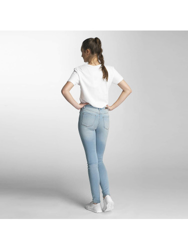Pieces Damen Skinny Jeans PCFive Betty in blau